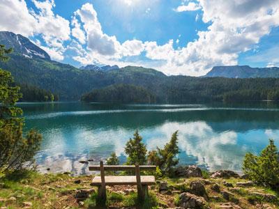 landschaften von montenegro