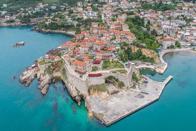 ulcinj in montenegro