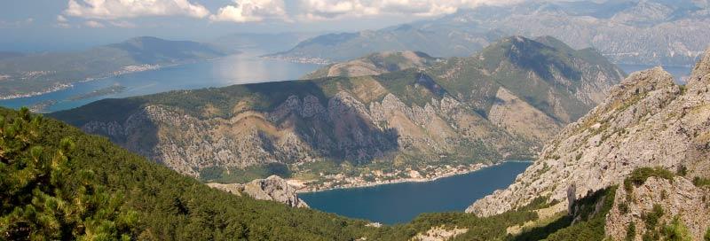Aussichtspunkt an der Straße zwischen Kotor und Lovcen