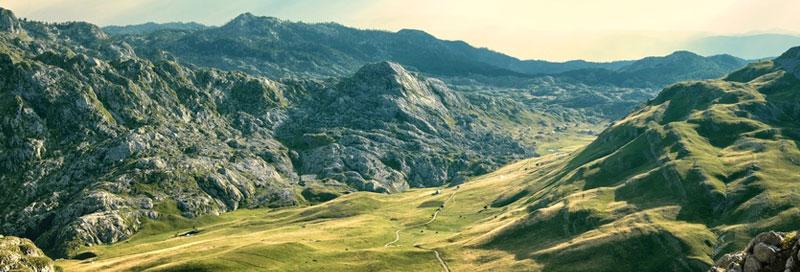 Gebirge in Montenegro