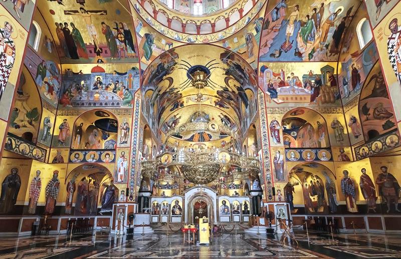 Inneres der Kathedrale der Auferstehung Christi