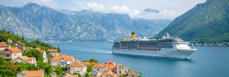 Kreuzfahrt auf dem Mittelmeer – mit Halt in Montenegro