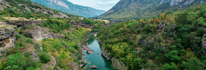 Moraca Fluss