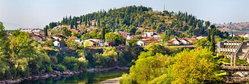 Städte in Montenegro
